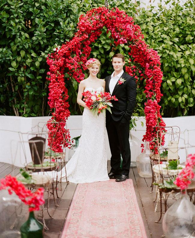 5 Bohemian Home Decor Ideas Rustic Folk Weddings: 7 Beautiful Wedding Arches